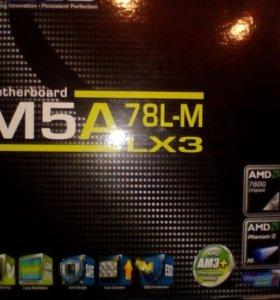 Материнская плата asus M5A 78L-M LX3