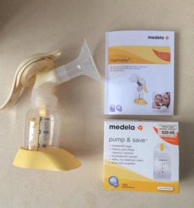 Молокоотсос, новые пакеты для хранения молока