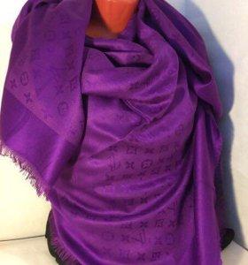 Louis Vuitton фиолетовый платок