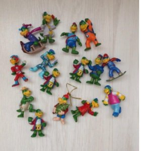 Мелкие игрушки с киндера