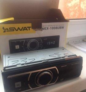 Магнитола SWAT mex-1008ubw