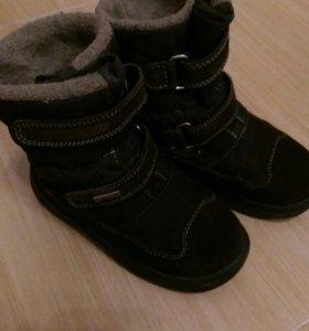 Зимние ботиночки на мальчика Scandia р.25