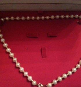 Ожерелье с жемчугом