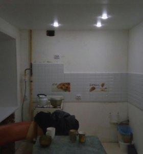 Натяжные потолки .Ремонт квартир