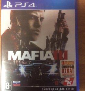 Игра PS4 mafia 3