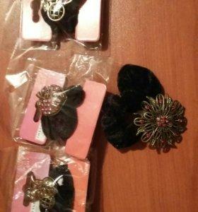 Резинки для волос с украшениями