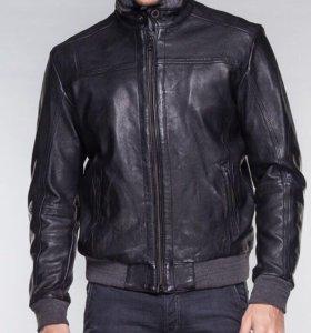 Кожаная куртка GAS