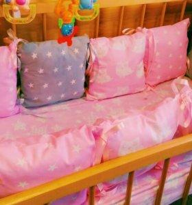 Набор подушки бортики