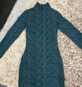 Платье, жаккард