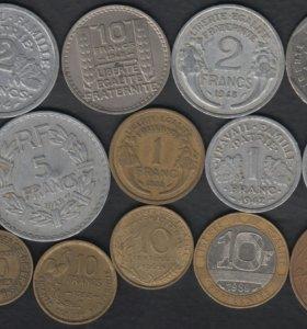 14 монет Франции