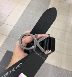 Новые ремни Calvin Klein и Armani натуральная кожа