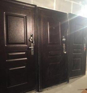 Дверь от застройщика