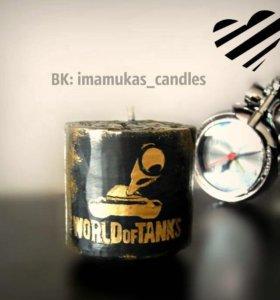 Свеча для танкиста :)