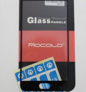 Защитное стекло 3D Full на Meizu U20, черное