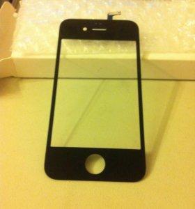 Экран с тачскрином для iphone 4 черные