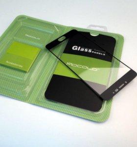 Защитное стекло 3D Full для Meizu M3 Note, черное
