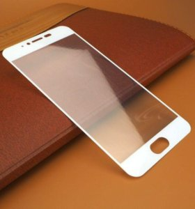 Защитное стекло 3D Full для Meizu M3 Note, белое