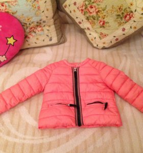 Куртка детская на девочку( фирма Zara)