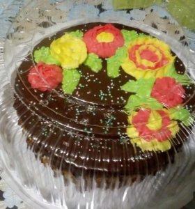 Пеку торты назаказ