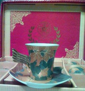 Подарочные чайно-кофейные наборы пр-во азия