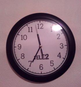 Часы настенные, 29см по диагонали, есть новые.