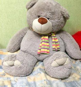 Медведь мягкая игрушка (Мишка). На 8 Марта подарок
