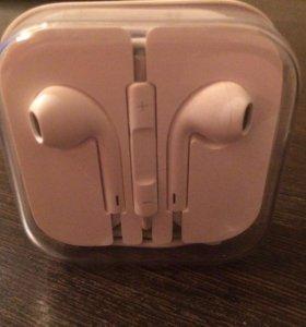 Наушники Apple 100% оригинал,абсолютно новые