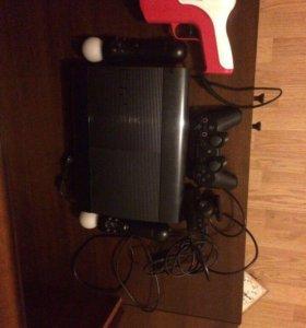 Продаю PS3 500gb + игры в подарок!