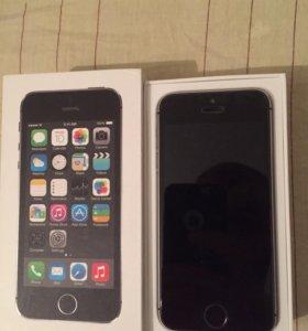 iPhone 5s 64gb LTE в отл.сос. Не востановленный!