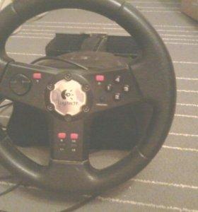 Руль, Педали,на ПК, Хbox,Sony P.