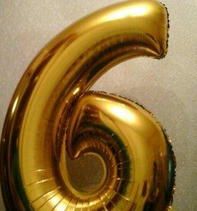 Цифра 6 .