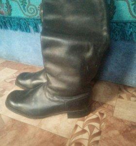 Сапоги мужские хромоаые (кожаные)