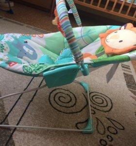 Шезлонг-качеля для малыша