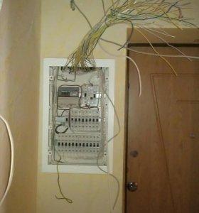 Услуги электрика и электромонтажа