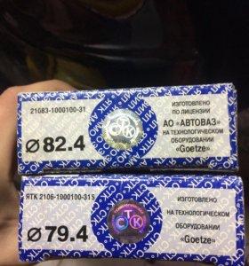 Поршневые кольцо СТК, ваз 21083, 82.4