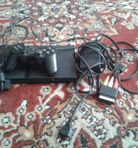 Sony playstation 2 + диски