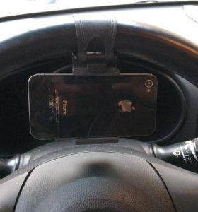 Крепление телефона на руль