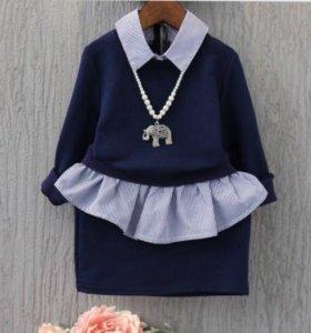 Комплект на девочку свитшот и юбка.