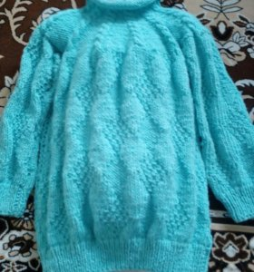 Вязаное платьишко, новое