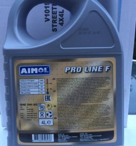 Масло моторное AIMOL  Pro Line F 5w30