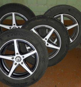 Комплект колес на литье