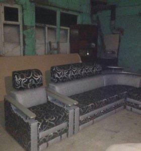 мебельный мягкий уголок