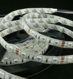Светодиодные ленты SMD 5050 RGB