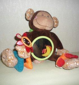 Обезянка, развивающая игрушка