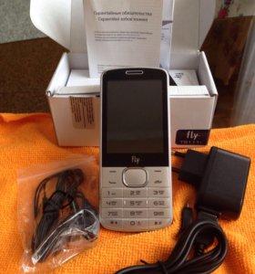 Сотовый телефон Fly TS111-White