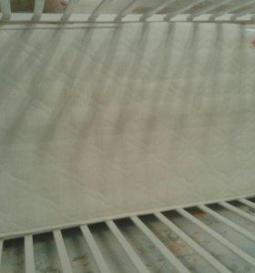 Детская кроватка-трансформер Тереза с матрасом