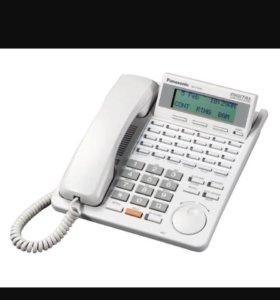 Цифровой системный телефон Panasonic KX-T7433. Б/у