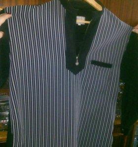 Свитер и теплая рубашка