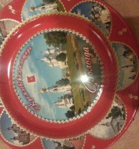 Вологодская тарелка