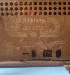 Радиола Волга